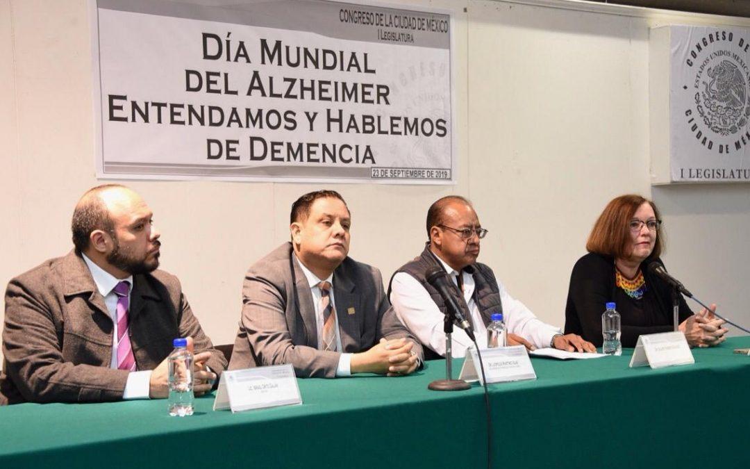 En la Ciudad de México hay 104 mil 674 personas con algún tipo de demencia
